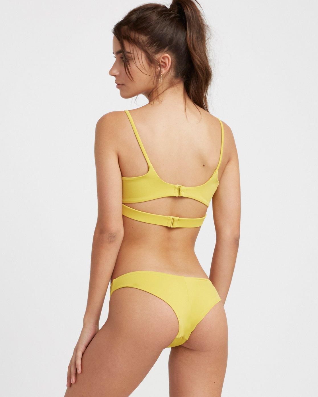 1 Solid Cheeky Bikini Bottoms Beige SJXB01SC RVCA