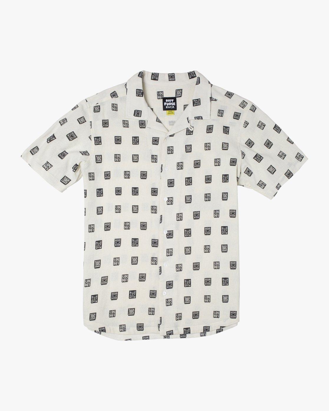 0 Hot Fudge Papel Picado - Short Sleeve Shirt for Men  T1SHRCRVS0 RVCA
