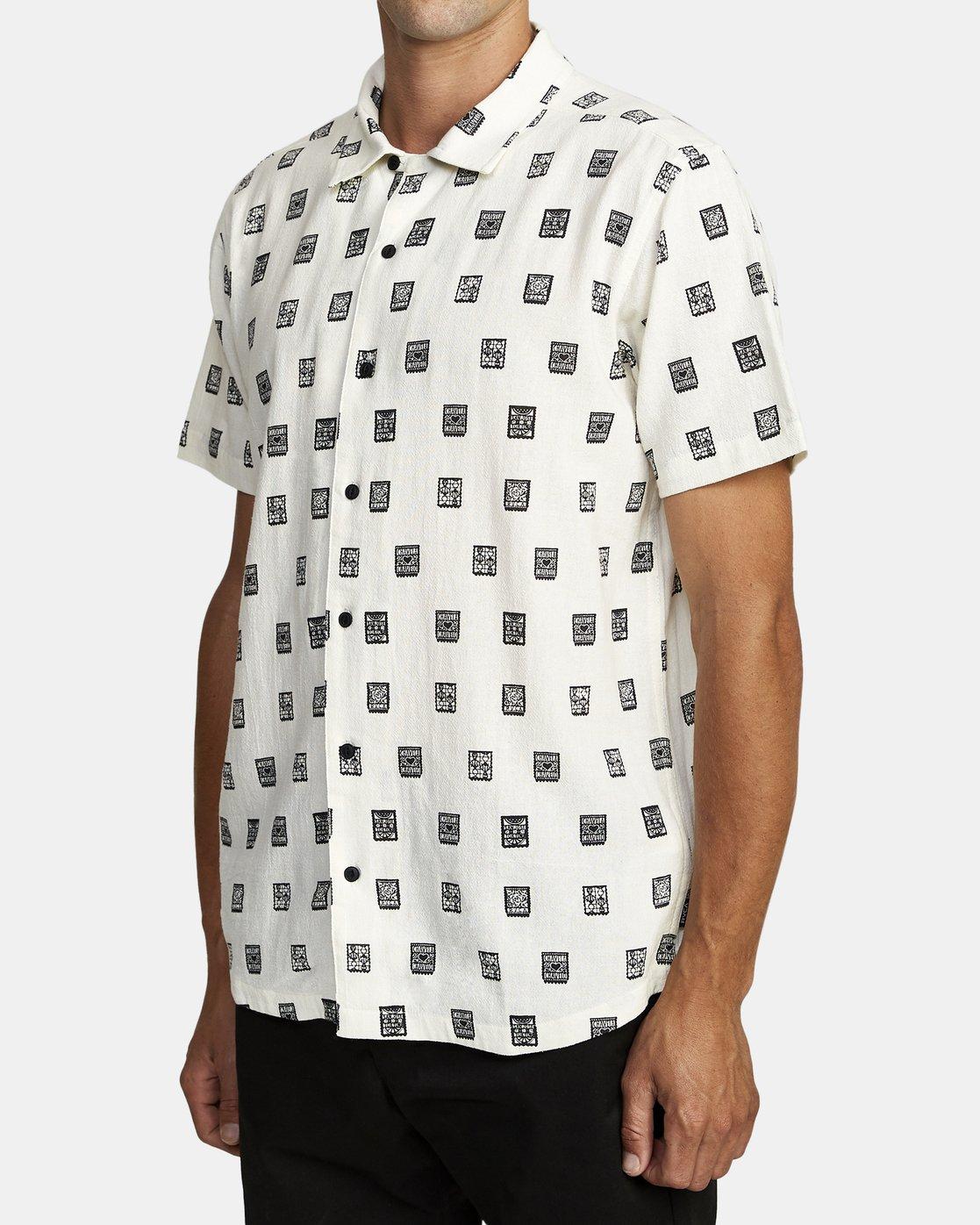 2 Hot Fudge Papel Picado - Short Sleeve Shirt for Men  T1SHRCRVS0 RVCA