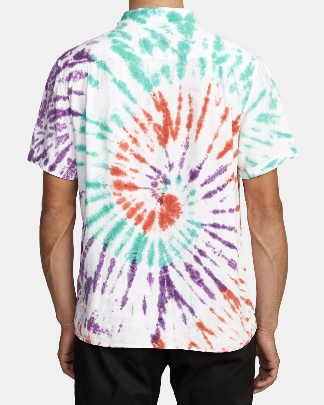 4 Freepoint - Short Sleeve Shirt for Men  T1SHRGRVS0 RVCA