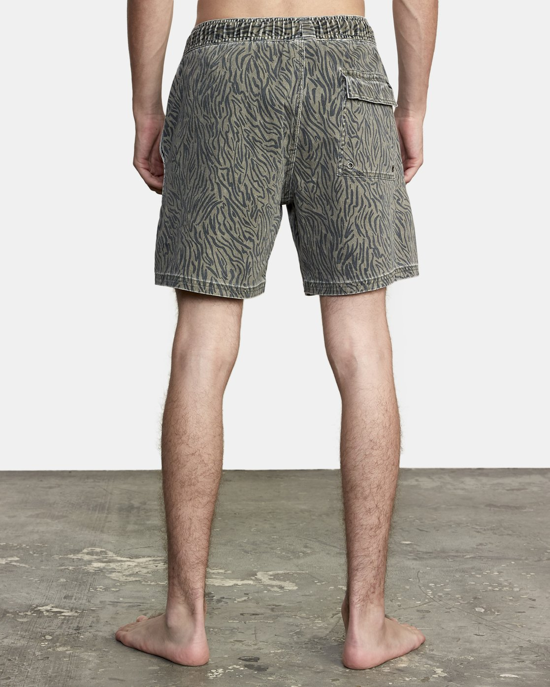 4 Escape Elastic - Swim Shorts for Men Green T1VORERVS0 RVCA