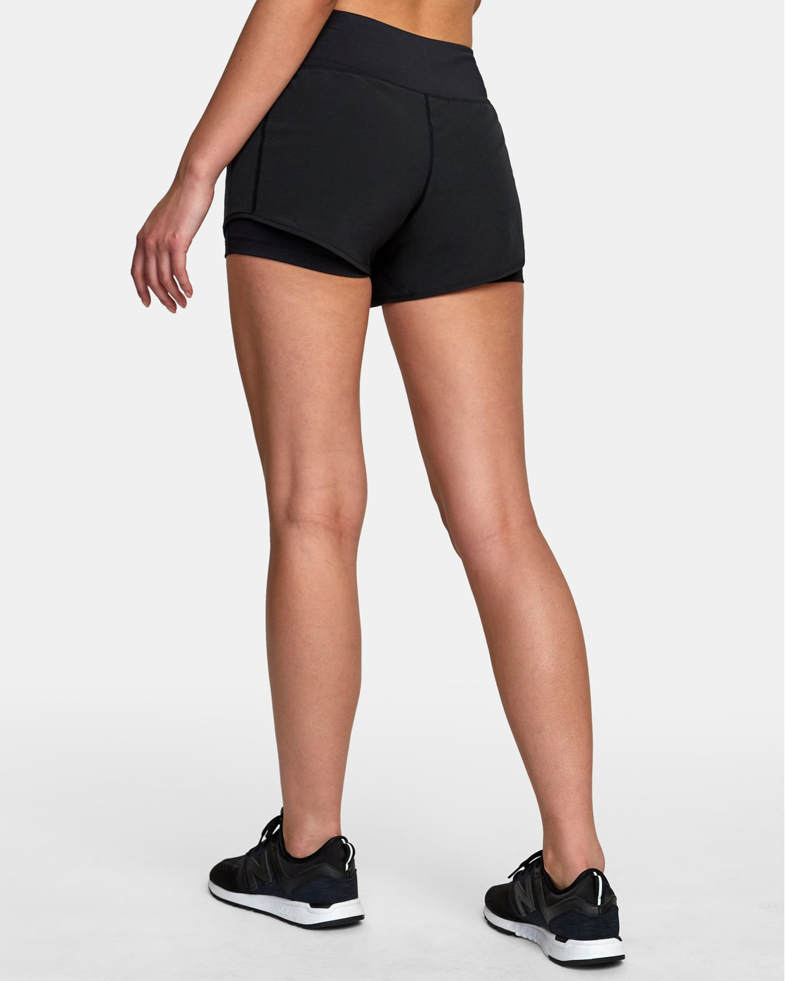 4 Eclipse Sport Short Black T201VREC RVCA