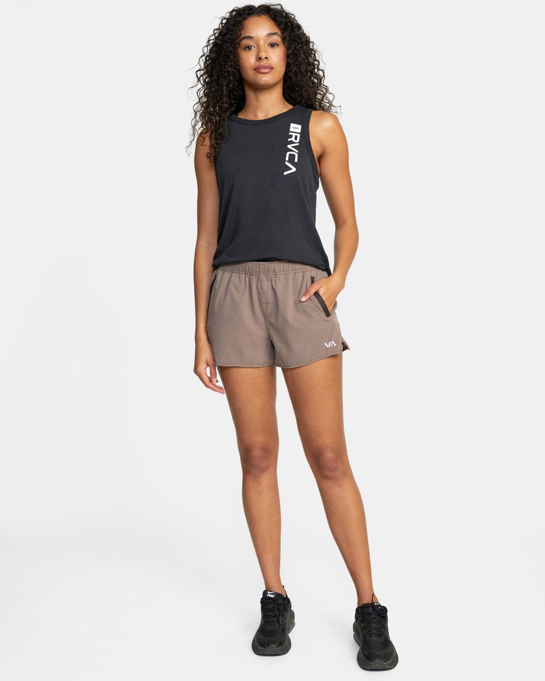 3 Womens Yogger Stretch Short Grey T202TRYS RVCA