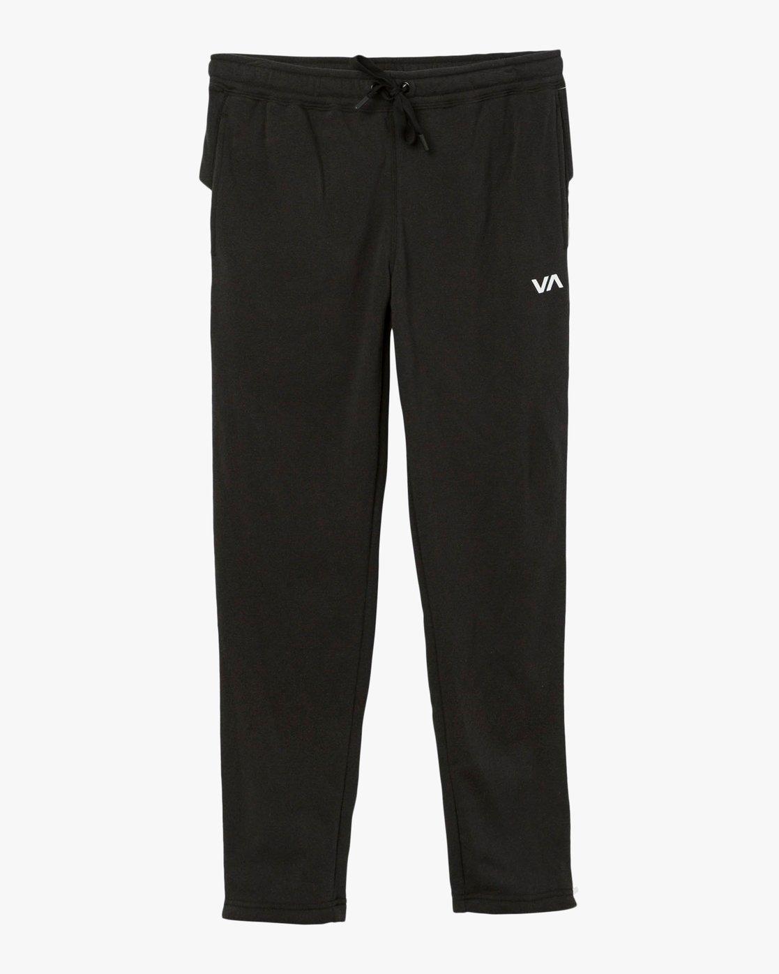 7 Tycho Fleece Jogger Pants Black T301SRTJ RVCA