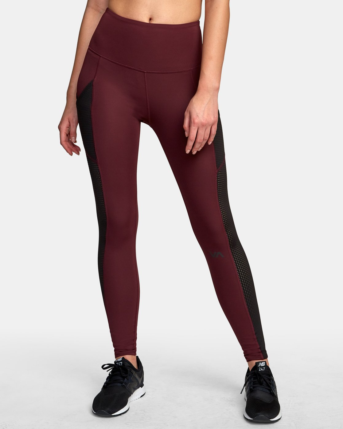 0 Atomic High Rise Legging Pink T302VRAT RVCA