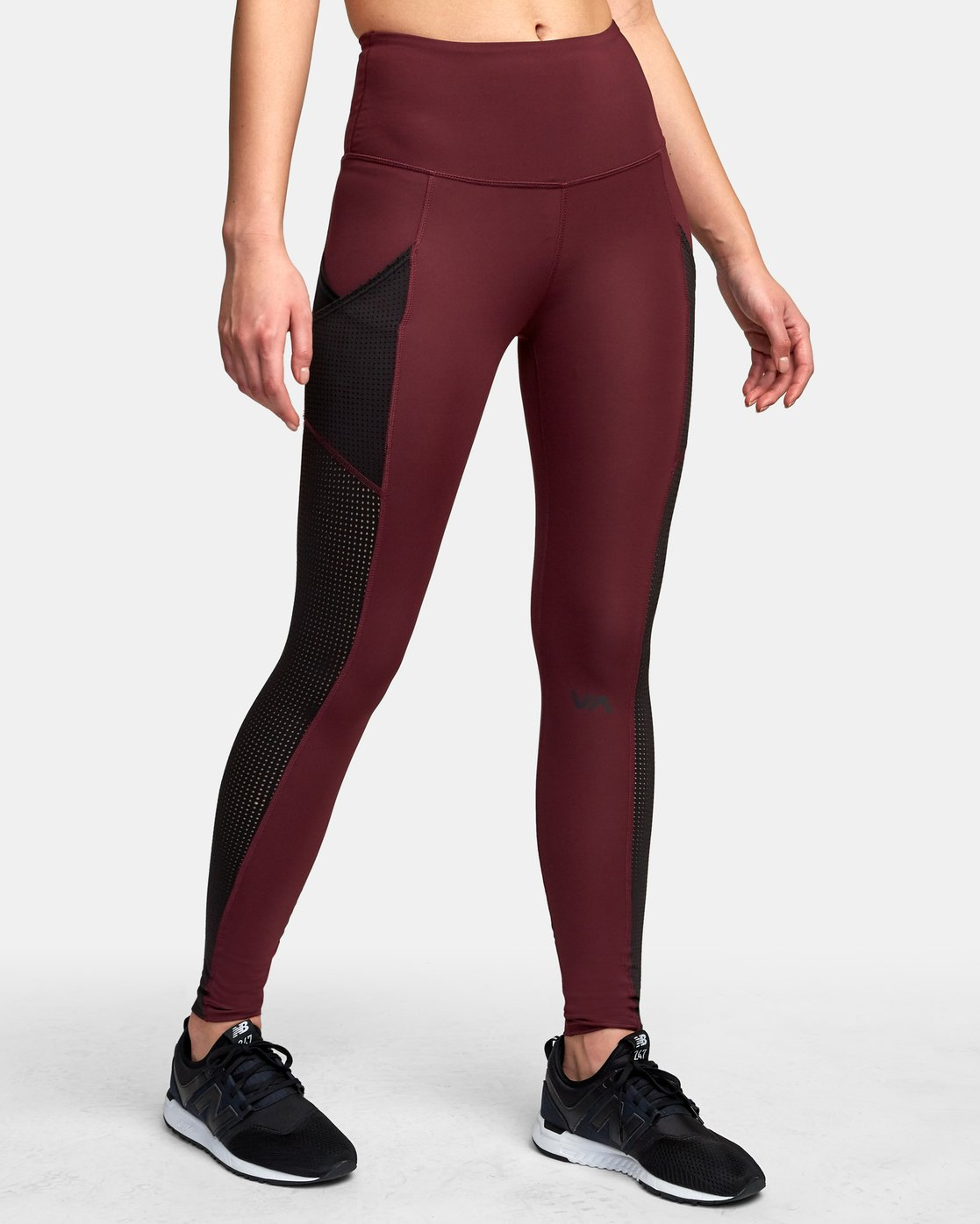 4 Atomic High Rise Legging Pink T302VRAT RVCA
