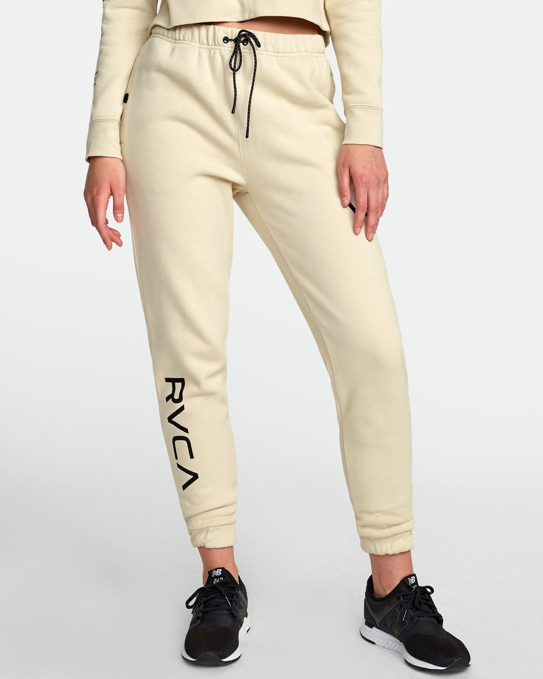 0 SPORT FLEECE SWEATPANT White T3071RSS RVCA