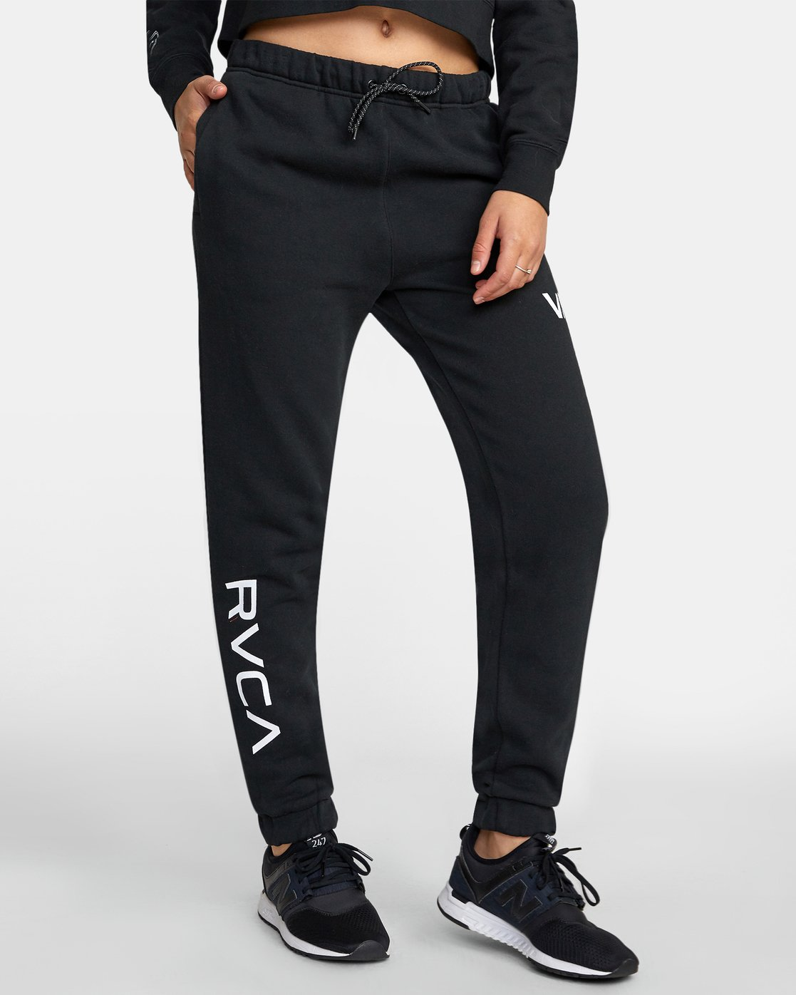 0 SPORT SWEATPANT Black T3071RSS RVCA