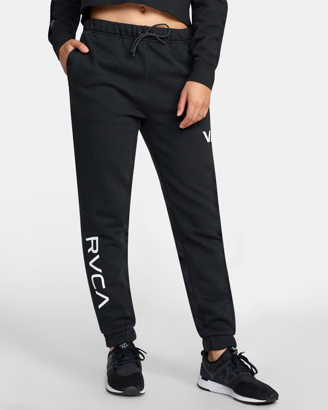1 SPORT SWEATPANT Black T3071RSS RVCA
