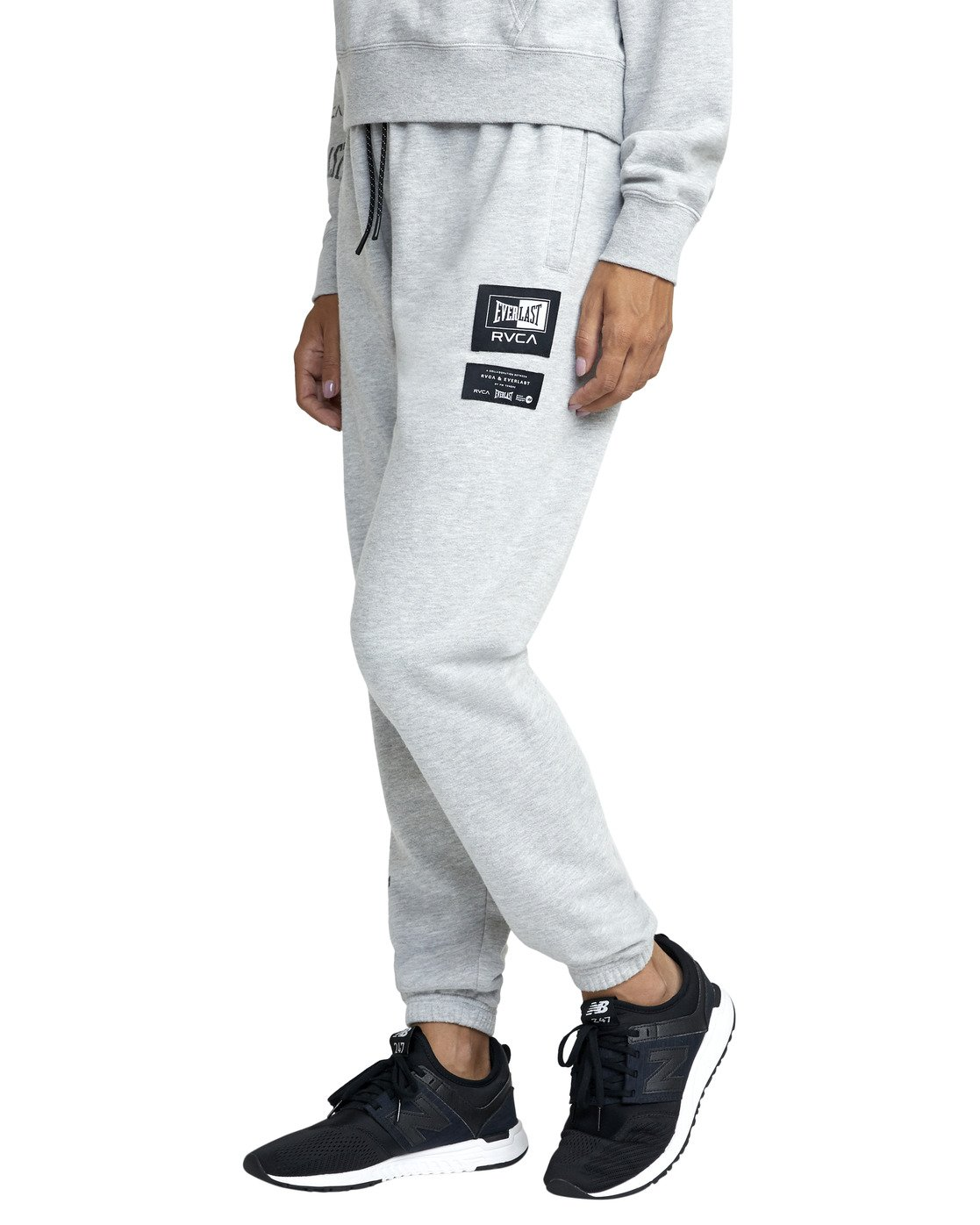 1 EVERLAST SPORT WORKOUT SWEATPANT Grey T3081RES RVCA