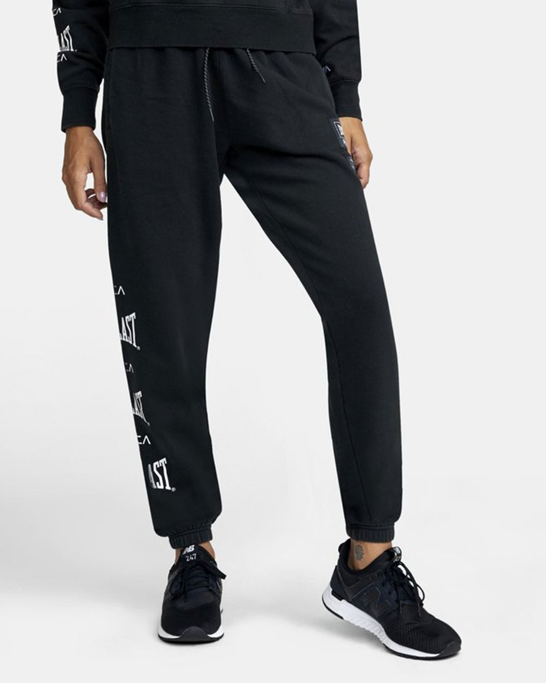 0 EVERLAST SPORT WORKOUT SWEATPANT Black T3081RES RVCA