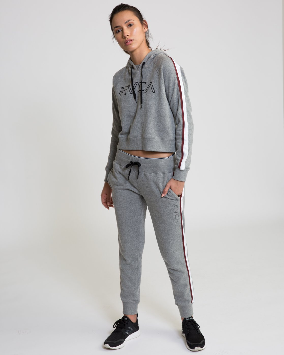 0 VA Guard Fleece Jogger Pants Grey T354QRGU RVCA