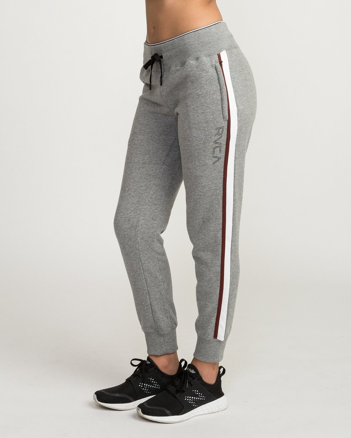 2 VA Guard Fleece Jogger Pants Grey T354QRGU RVCA