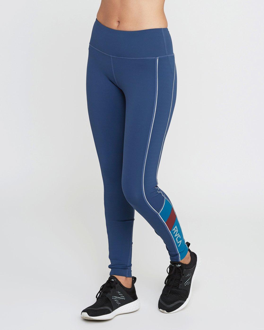 2 VA Legging Blue T372QRLV RVCA