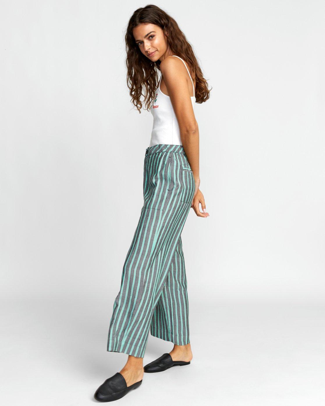 1 Colt - Pantalon pour Femme Vert T3PTRBRVS0 RVCA