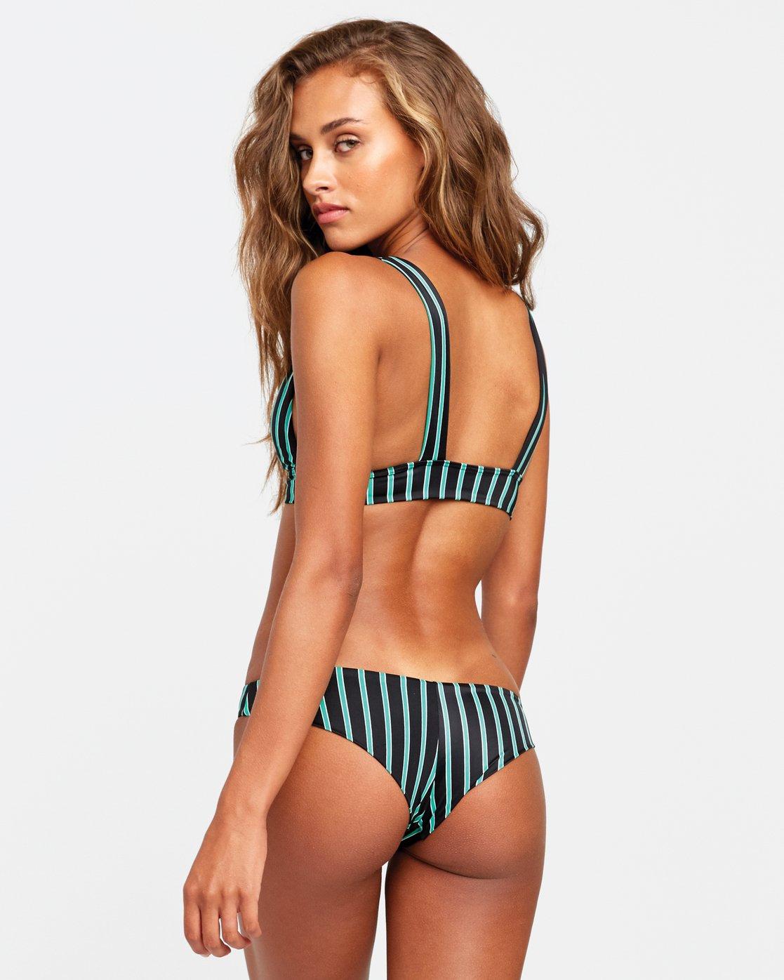 0 Nix - Cheeky Bikini Bottoms for Women Black T3SBRHRVS0 RVCA