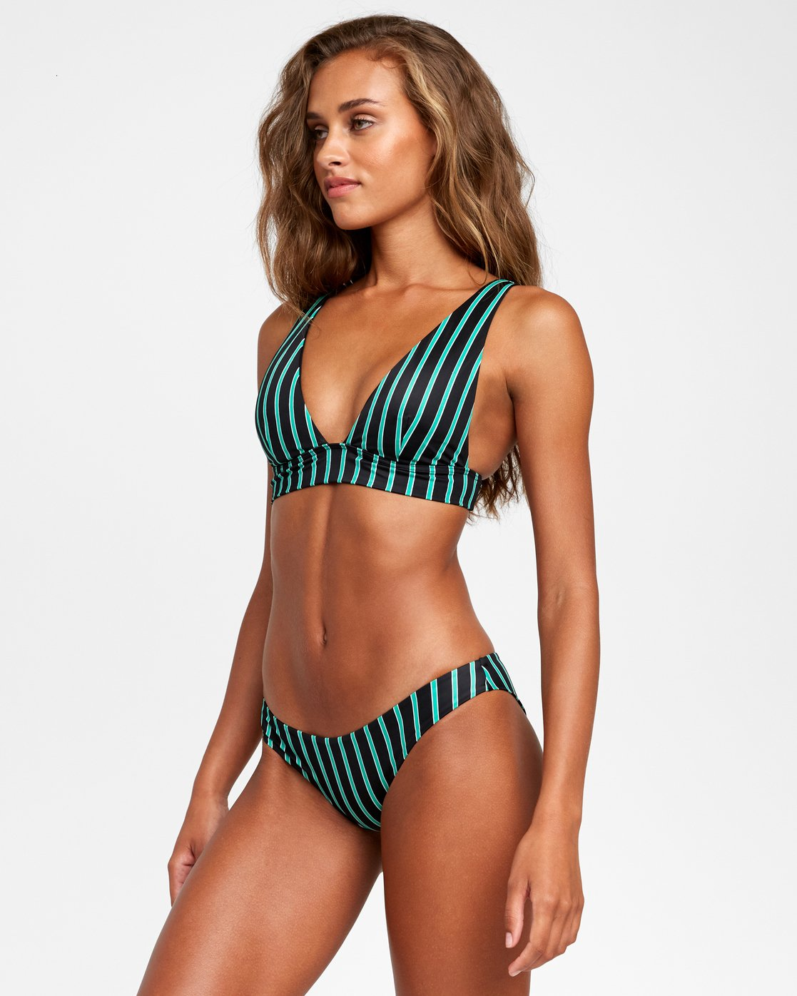 1 Nix - Cheeky Bikini Bottoms for Women Black T3SBRHRVS0 RVCA