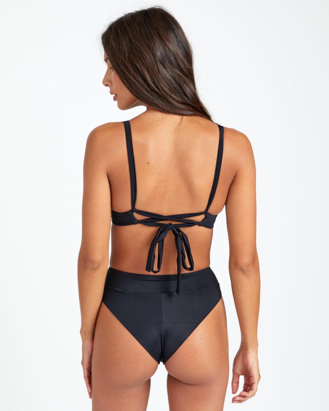 2 Solid High Rise - Bikini Bottoms for Women Black T3SBRRRVS0 RVCA