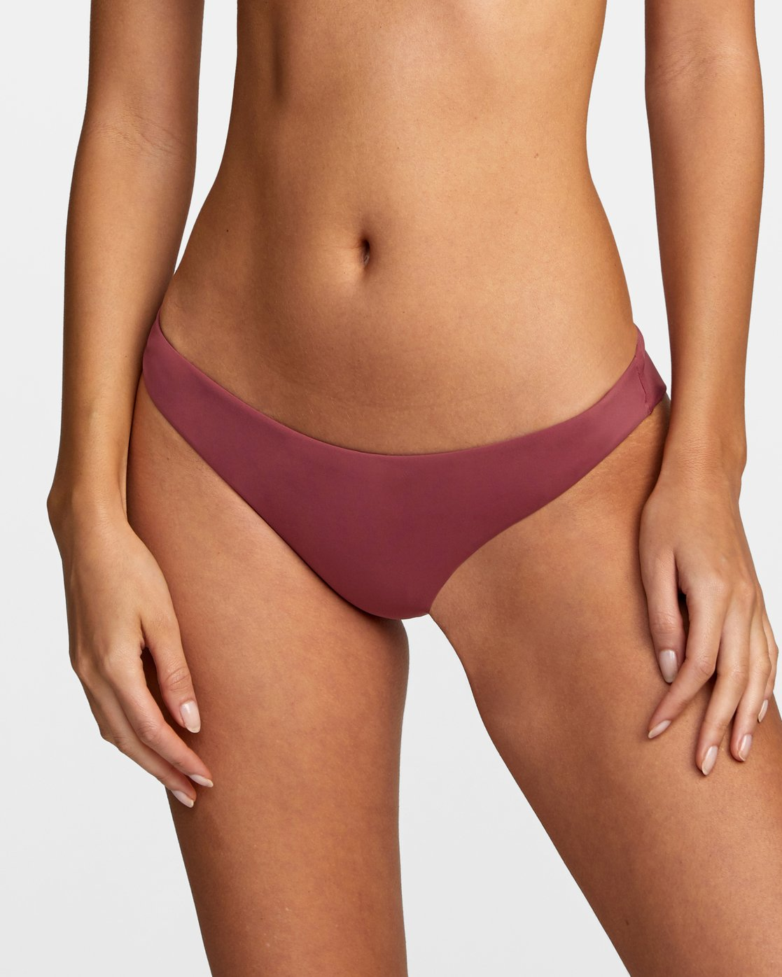 2 Solid Cheeky - Bikini Bottoms for Women Purple T3SBRSRVS0 RVCA