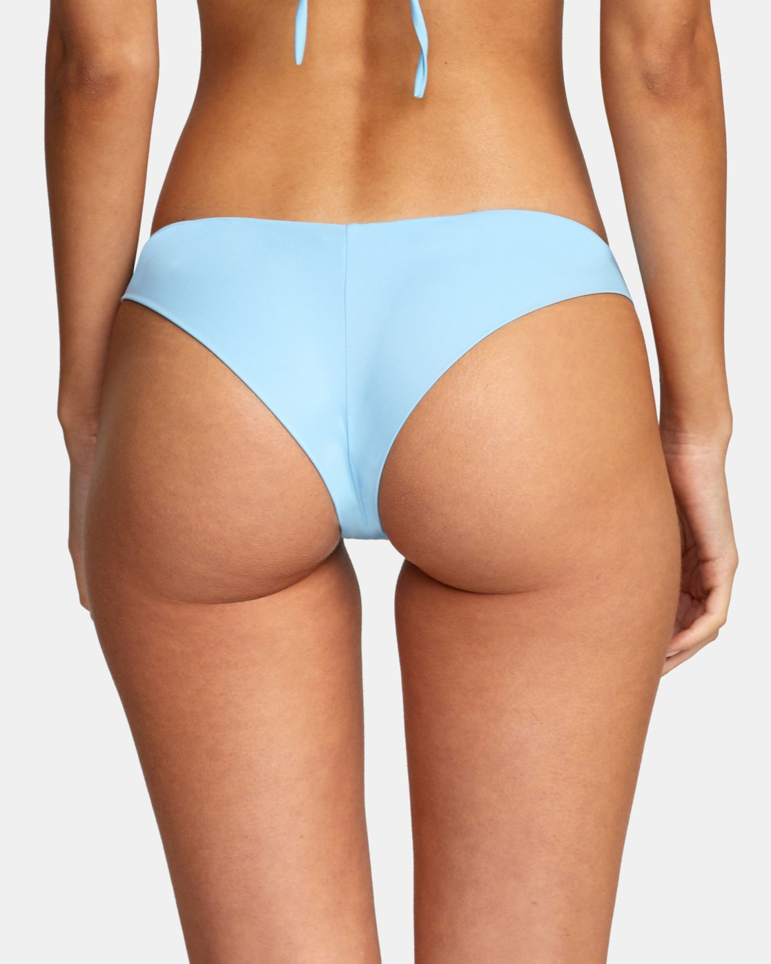 4 Solid Cheeky - Bikini Bottoms for Women Blue T3SBRSRVS0 RVCA