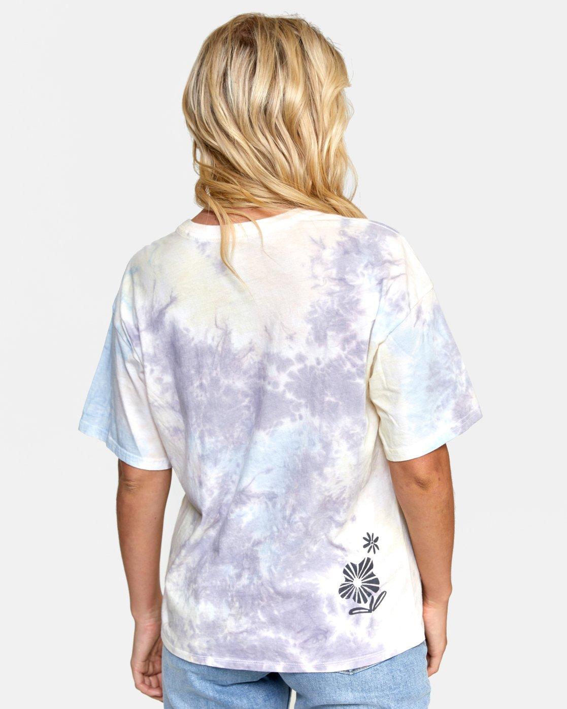 3 Michelle - T-shirt pour Femme Blanc T3SSRGRVS0 RVCA