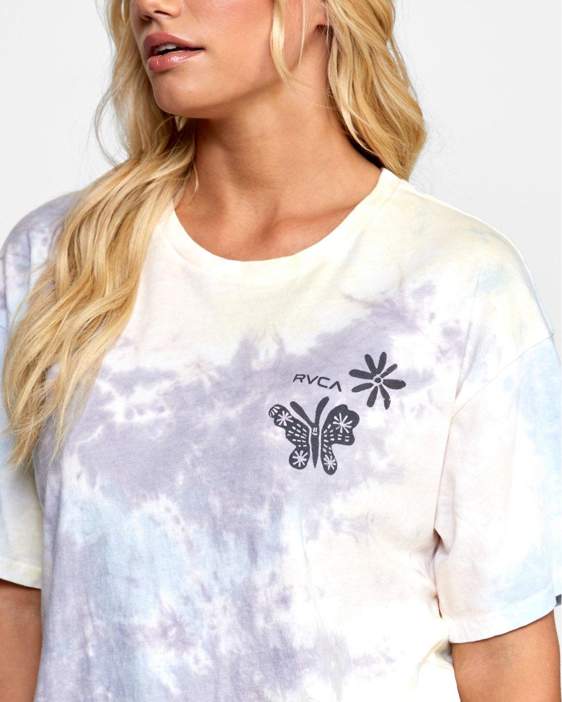 4 Michelle - T-shirt pour Femme Blanc T3SSRGRVS0 RVCA