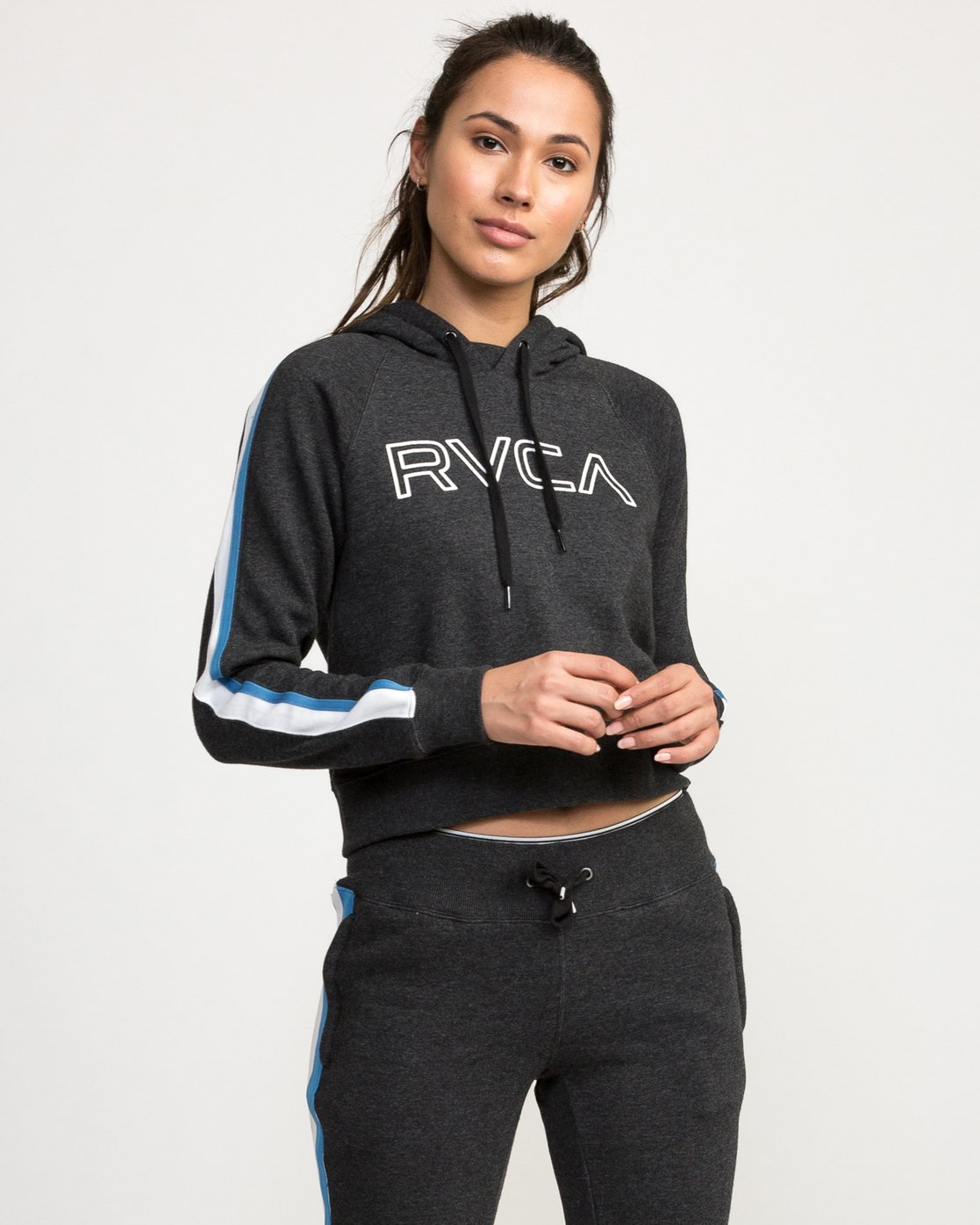 0 VA Guard Fleece Hoodie Black T601QRGH RVCA