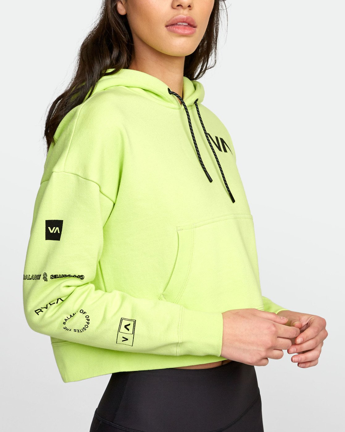 5 SPORT HOODIE Yellow T6031RCH RVCA