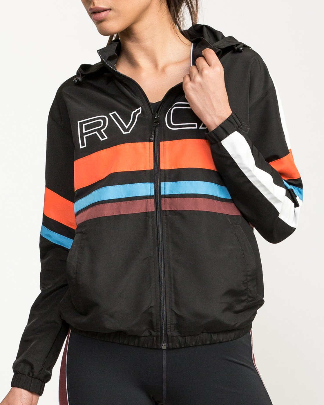 4 VA Team Jacket Multicolor T701QRTE RVCA