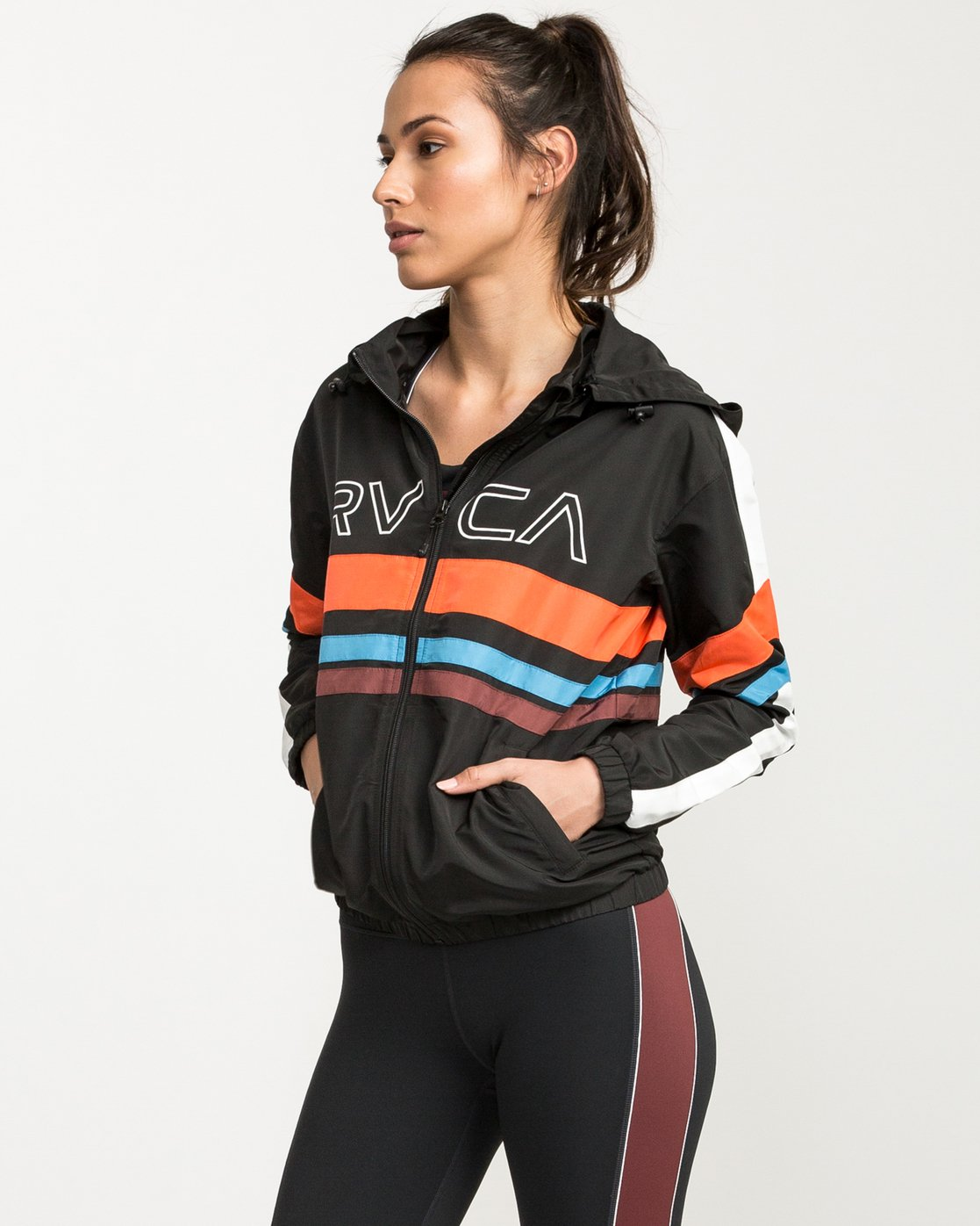 2 VA Team Jacket Multicolor T701QRTE RVCA