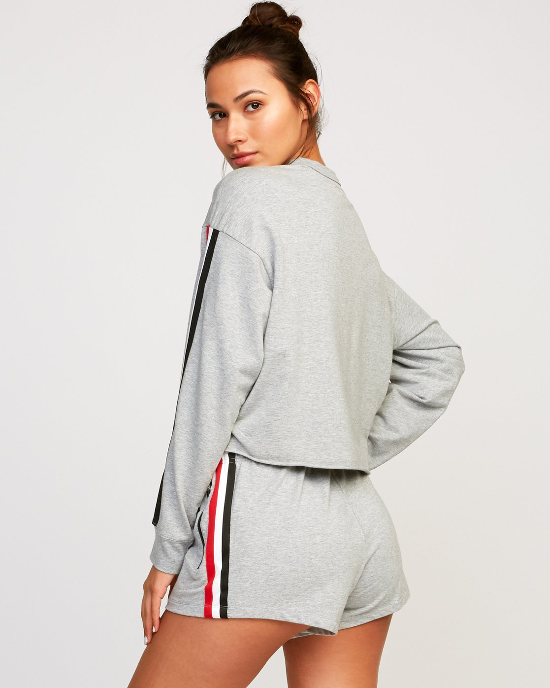 2 Ringside Sweatshirt Grey T701URRS RVCA