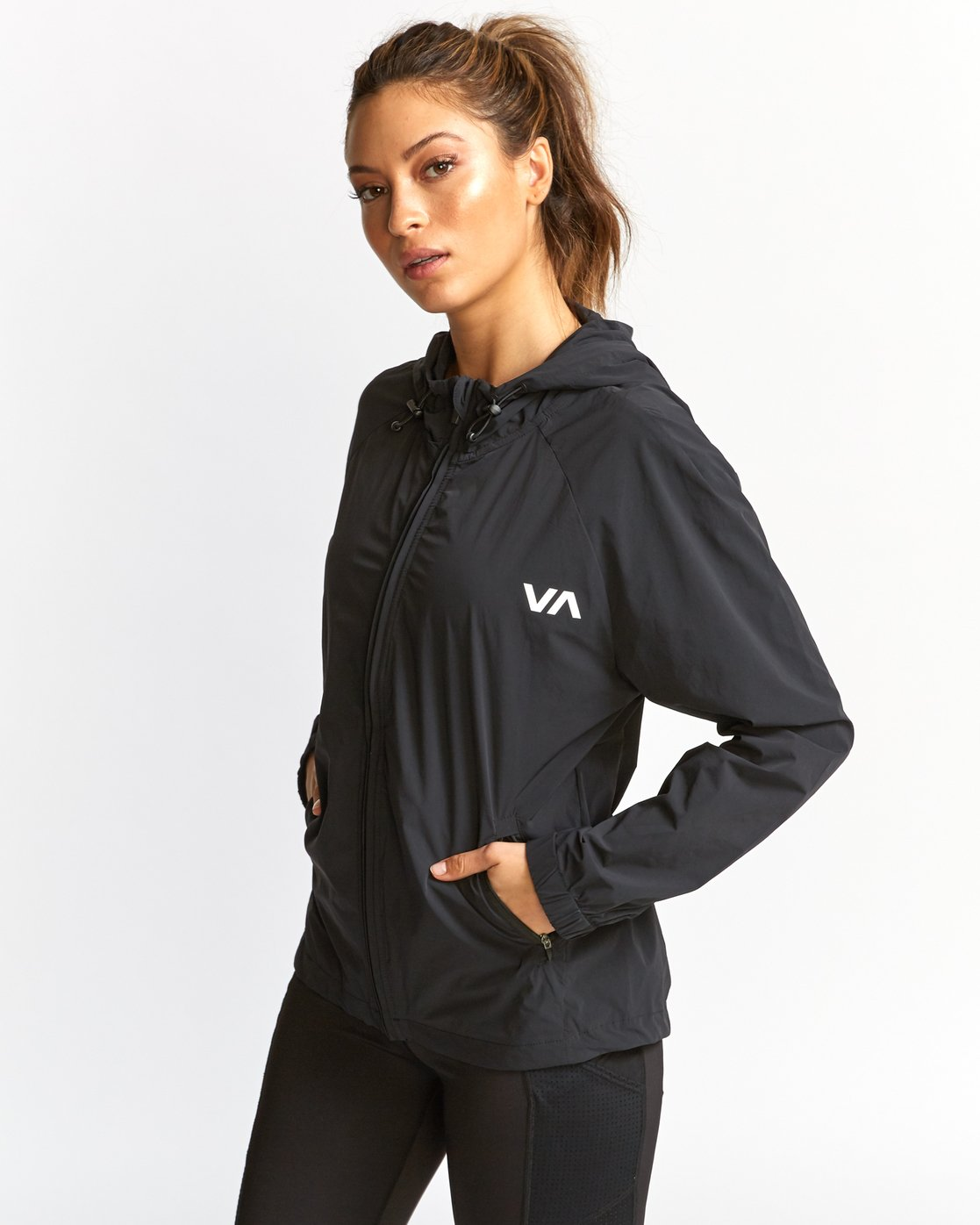 0 Flux Tech Jacket Black T703VRFL RVCA