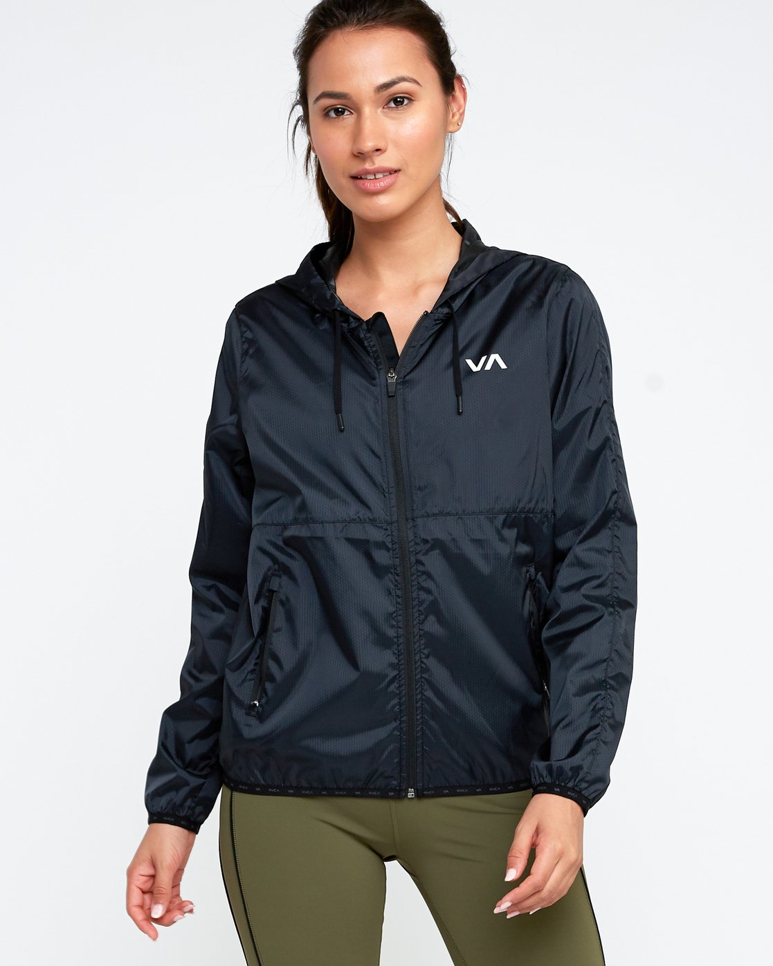 1 Hex Packable Windbreaker Jacket  T704TRHE RVCA