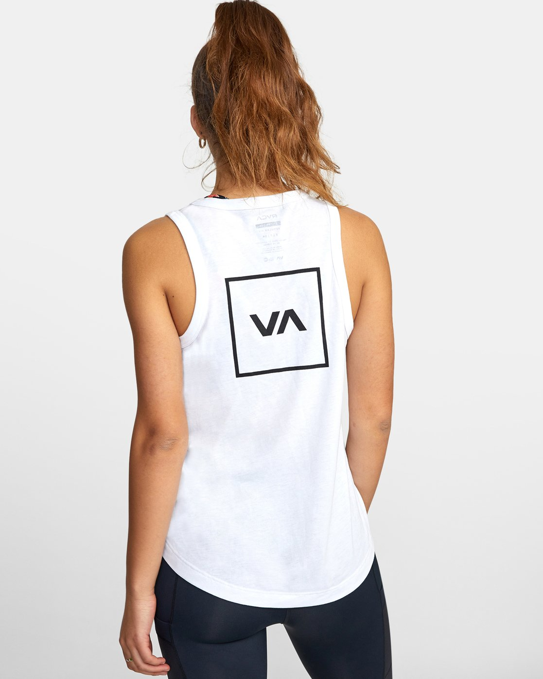 1 VA MUSCLE TANK TOP White T903WRVM RVCA