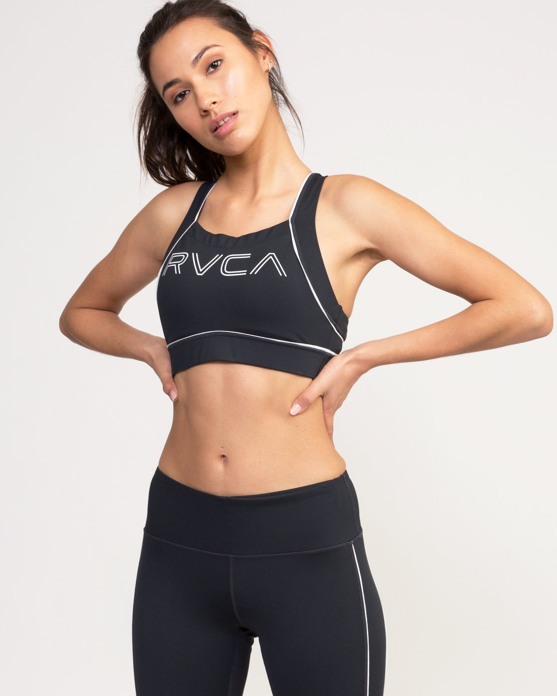 0 VA Lock Sports Bra Black TQ02QRLO RVCA