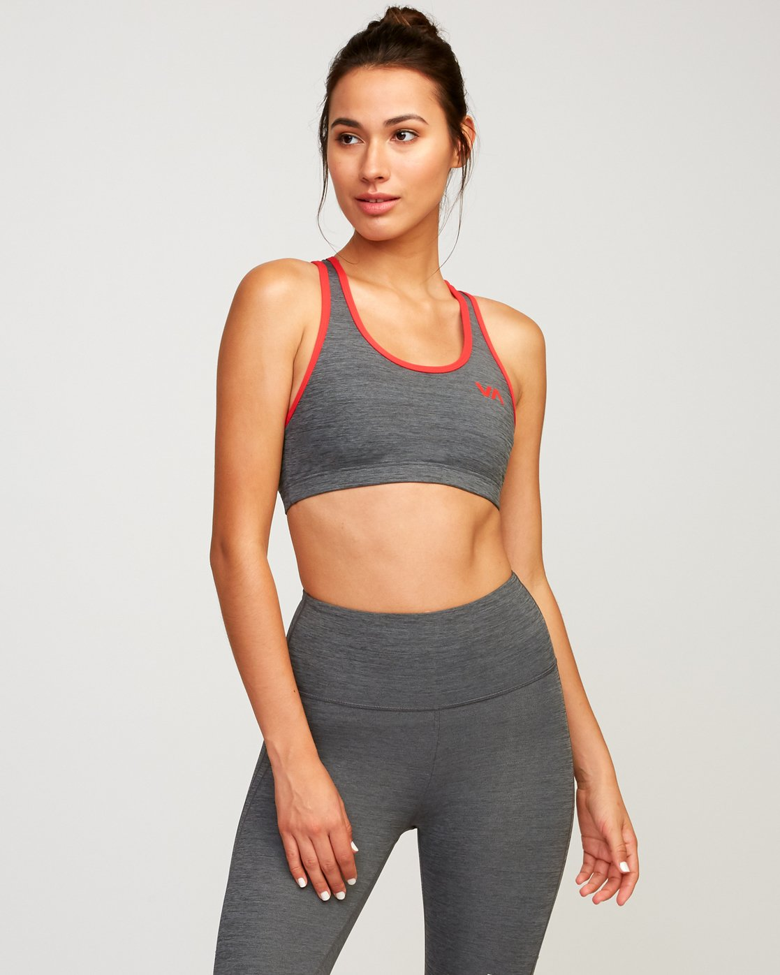 1 VA Takedown Sports Bra Grey TQ02TRTD RVCA