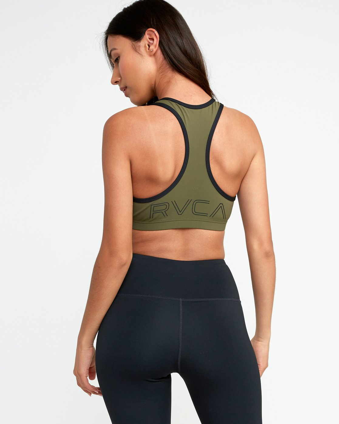 0 VA Takedown Sports Bra Green TQ02TRTD RVCA