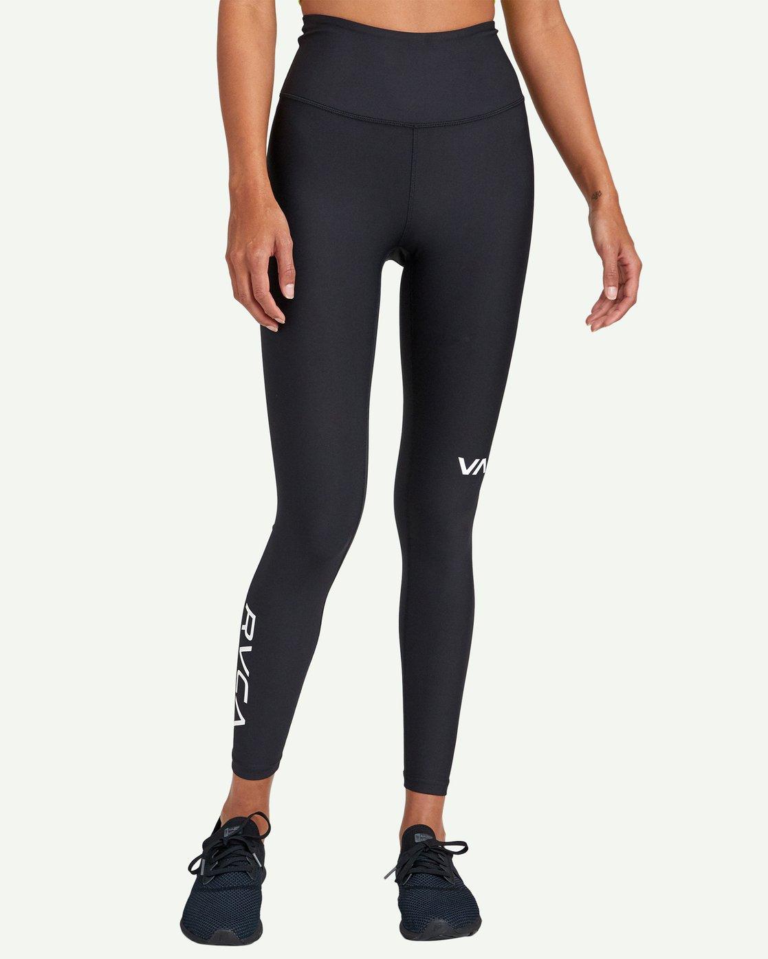 1 RVCA Sport High Rise Legging Black TQ02WRRL RVCA