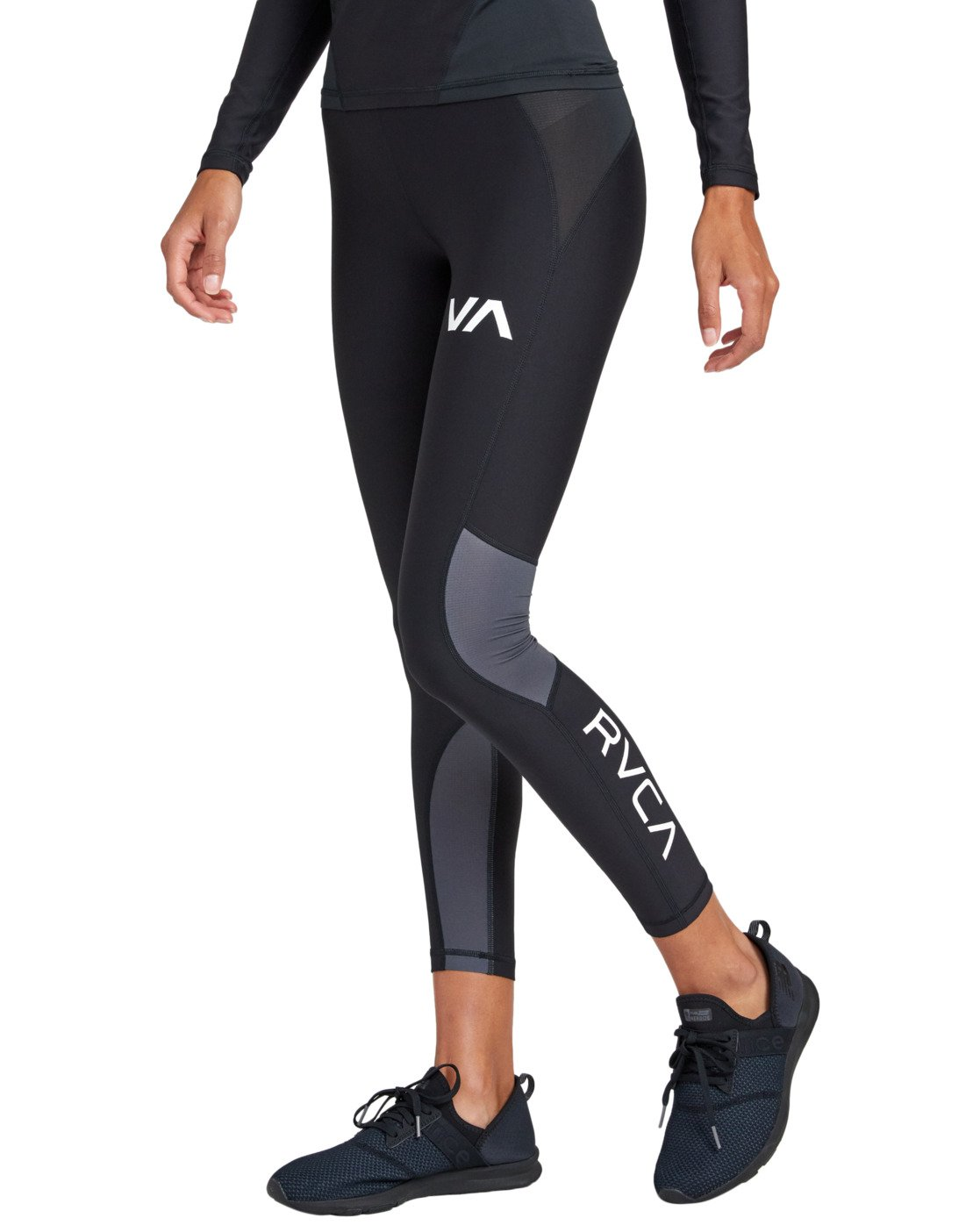 7 COMPRESSION LEGGING Black TQ041RCL RVCA