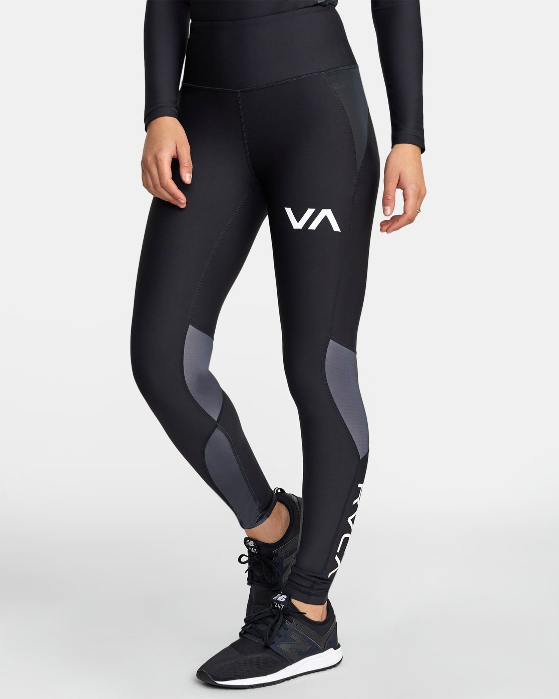 3 COMPRESSION LEGGING Black TQ041RCL RVCA