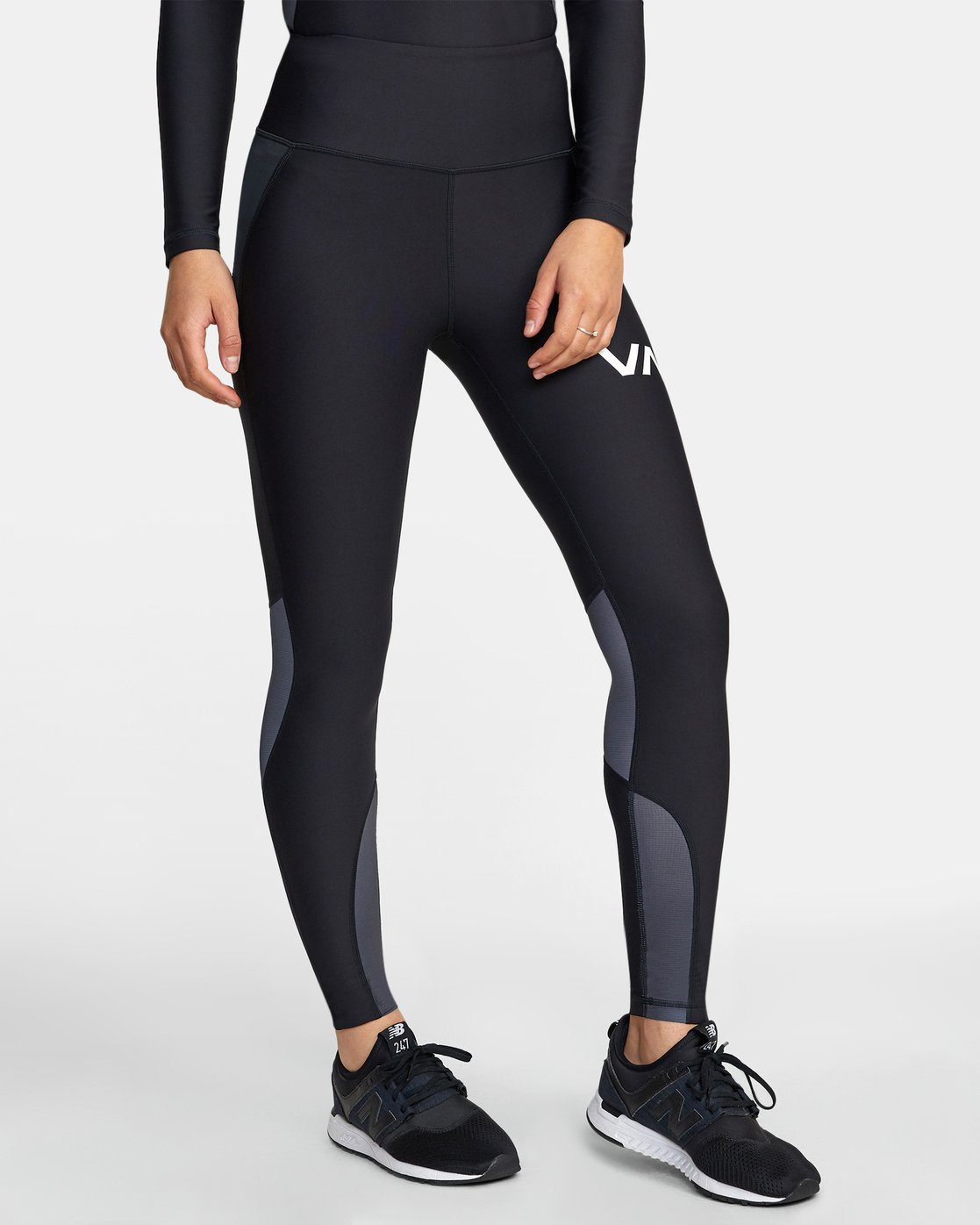 6 COMPRESSION LEGGING Black TQ041RCL RVCA