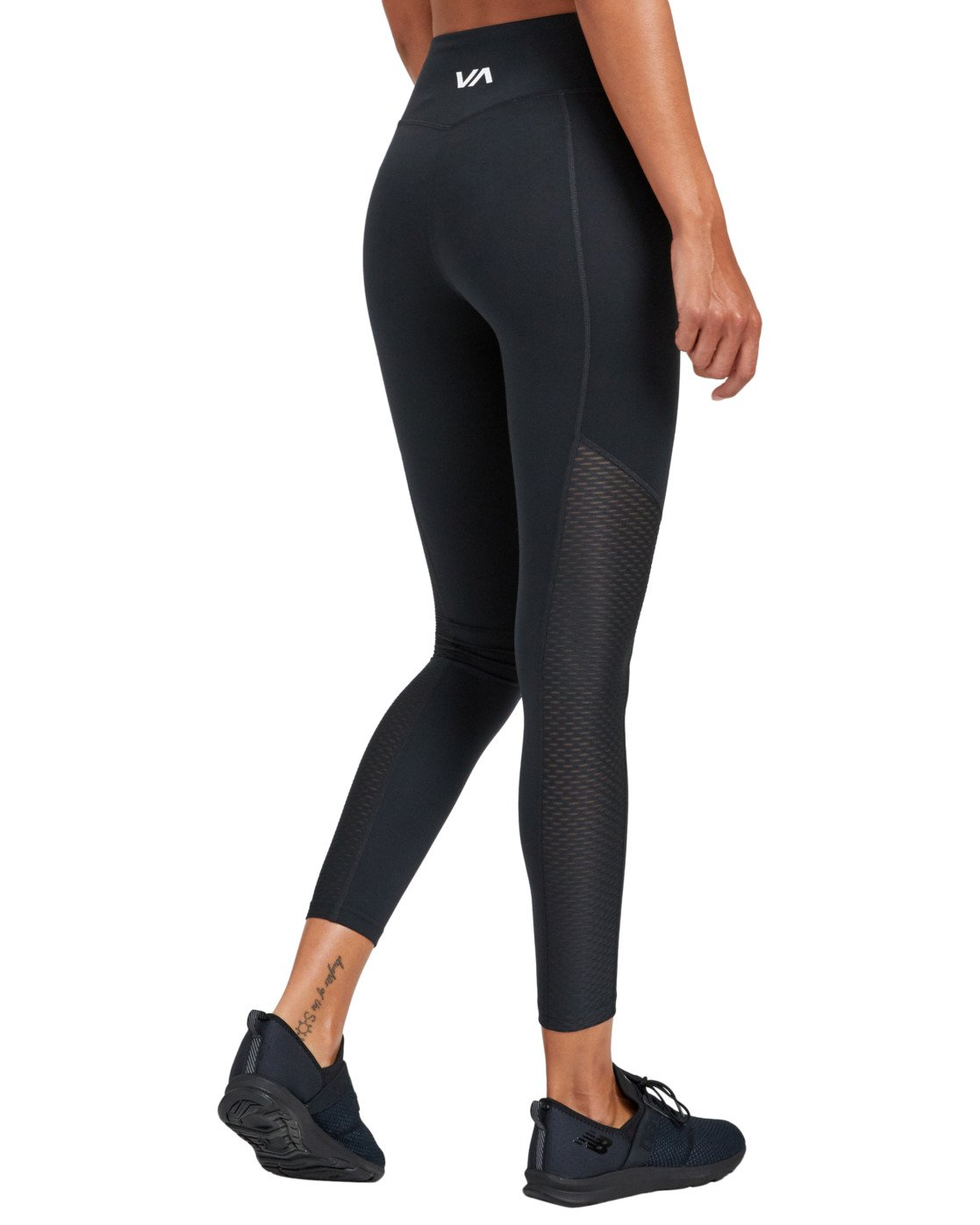 7 PERFECT SPORT LEGGING Black TQ093RPL RVCA