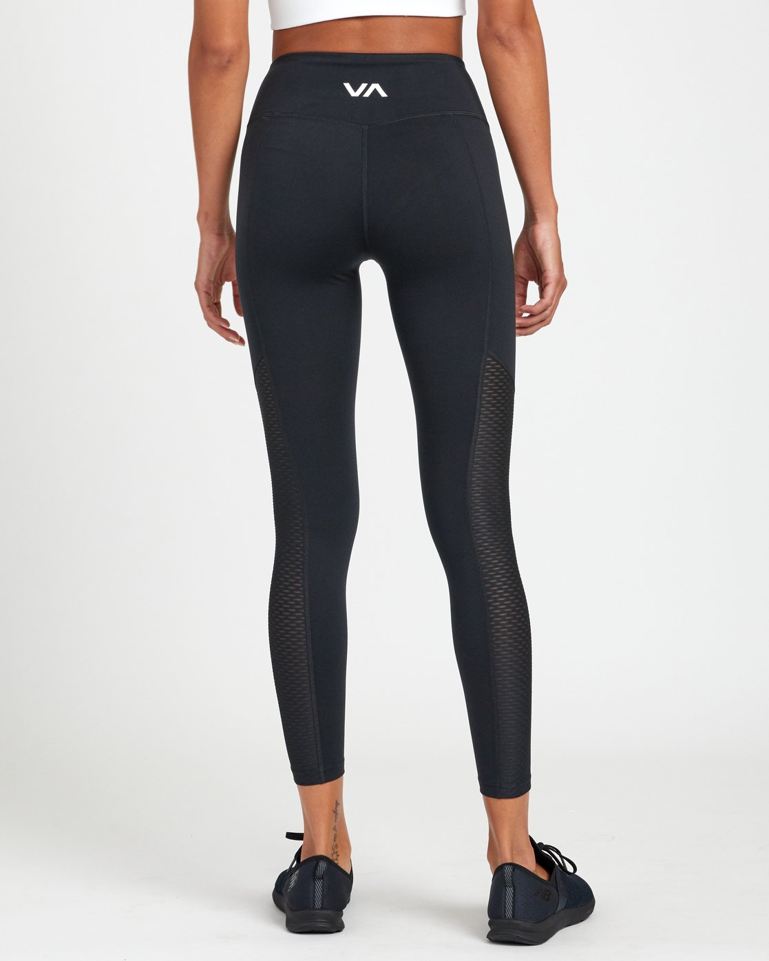 1 PERFECT SPORT LEGGING Black TQ093RPL RVCA