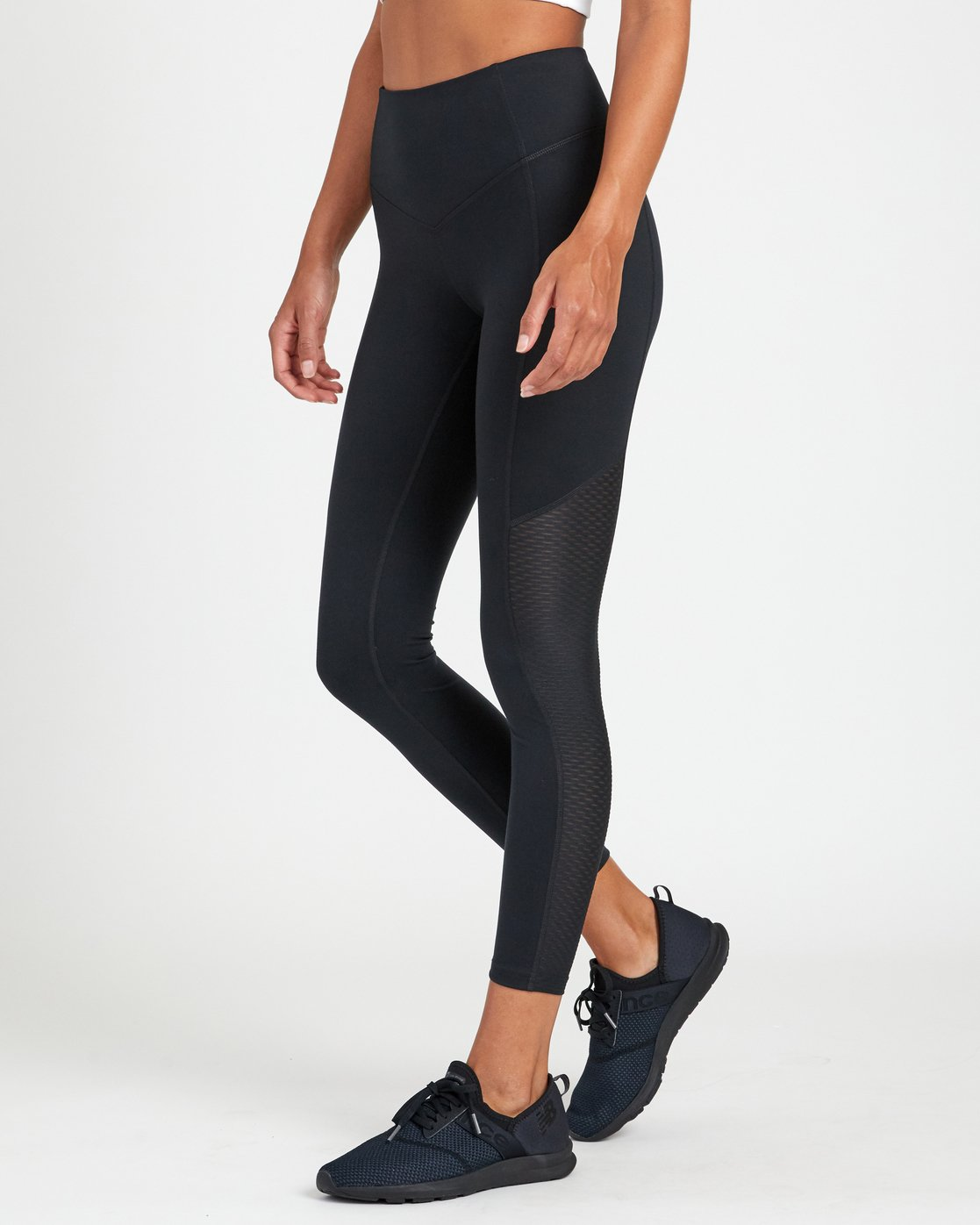 2 PERFECT SPORT LEGGING Black TQ093RPL RVCA