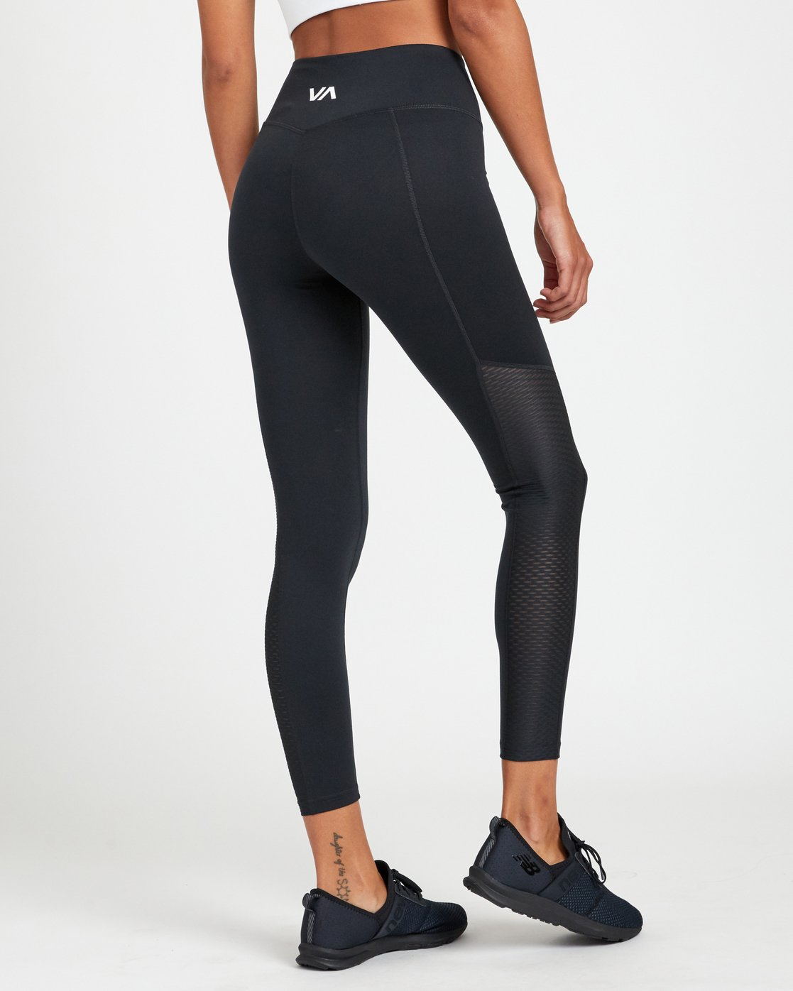 4 PERFECT SPORT LEGGING Black TQ093RPL RVCA
