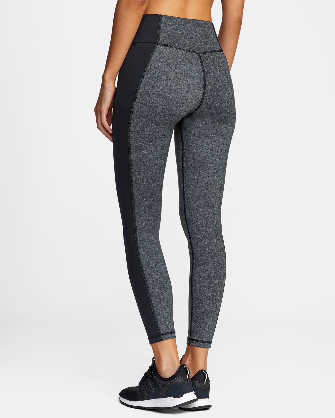 4 EVERLAST LACE UP SPORT LEGGING Grey TQ153REL RVCA