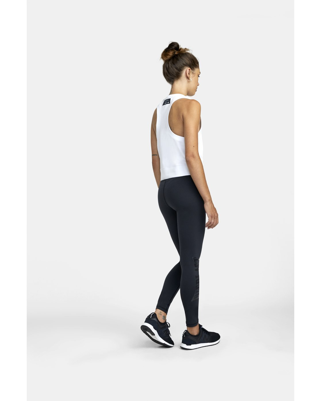 4 EVERLAST SPORT WORKOUT LEGGING Black TQ163REL RVCA