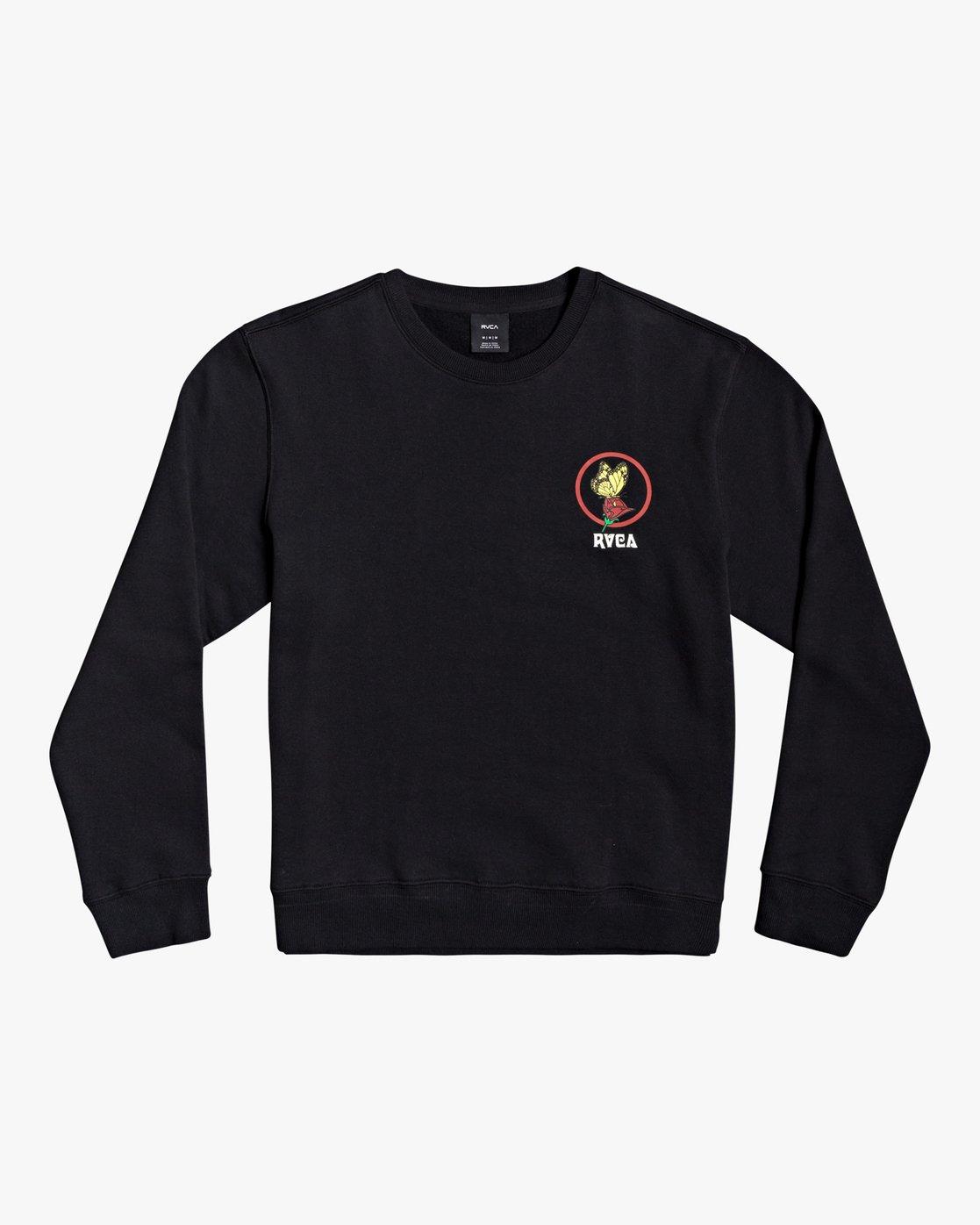 3 Nothing - Sweatshirt for Men Black U1CRRARVF0 RVCA