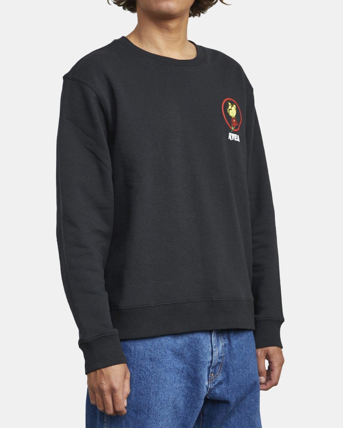 7 Nothing - Sweatshirt for Men Black U1CRRARVF0 RVCA