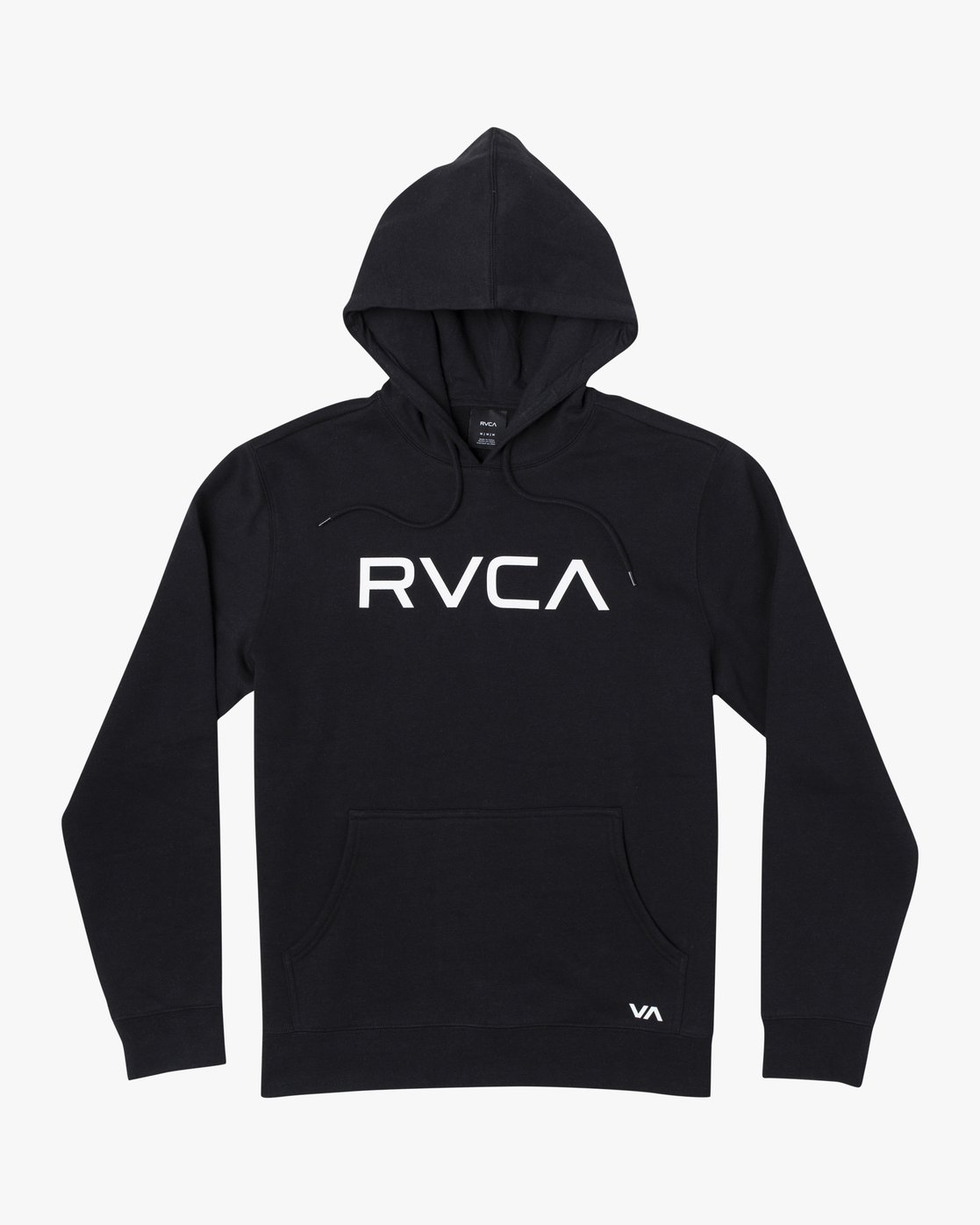 2 Big RVCA - Hoodie for Men Black U1HORFRVF0 RVCA